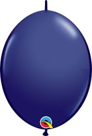 12 inch Qualatex Navy QuickLink Latex Balloons - 50 count