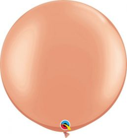30 inch Qualatex Rose Gold Latex Balloons - 2 count