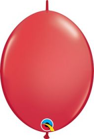 12 inch Qualatex Red QuickLink Latex Balloons - 50 count