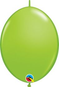 12 inch Qualatex Lime Green QuickLink Latex Balloons - 50 count
