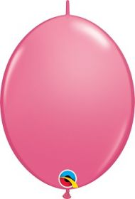 12 inch Qualatex Rose QuickLink Latex Balloons - 50 count