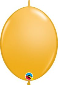 12 inch Qualatex Goldenrod QuickLink Latex Balloons - 50 count