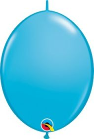 12 inch Qualatex Robins Egg QuickLink Latex Balloons - 50 count