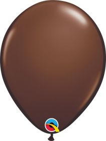 5 inch Qualatex Chocolate Brown Latex Balloons - 100 count