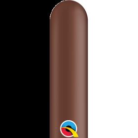 260Q Qualatex Chocolate Brown Latex Balloons - 100 count