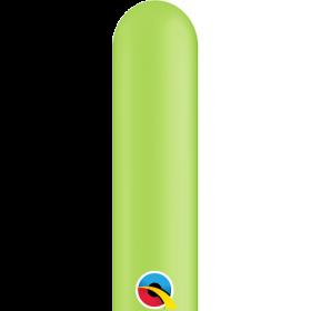 260Q Qualatex Lime Green Latex Balloons - 100 count