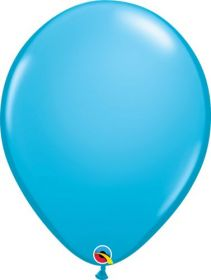 16 inch Qualatex Robin's Egg Blue Latex Balloons - 50 count