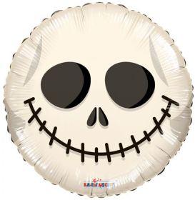 18 inch Halloween Jack Skull Foil Mylar