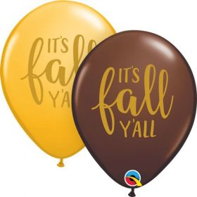 11 inch Qualatex Simply It's Fall Y'all Latex Assortment - 50 count