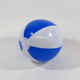 12 inch Blue White Beach Balls (8 inch inflated diameter)
