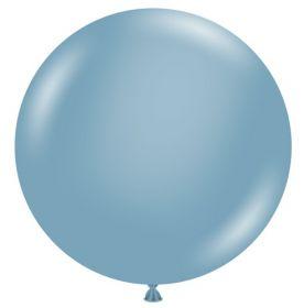 36 inch Tuf-Tex Blue Slate Latex Balloon