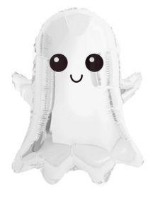 24 inch Tuf-Tex Boo-La-La Ghost Foil Balloon - Pkg