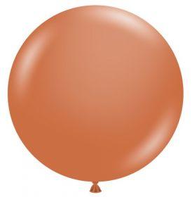 36 inch Tuf-Tex Burnt Orange Latex Balloon