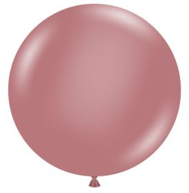 36 inch Tuf-Tex Canyon Rose Latex Balloon