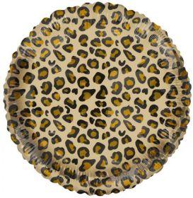 18 Inch Tuf-Tex Catty Simba Circle Foil Mylar Balloon - Pkg