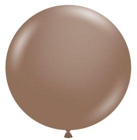 36 inch Tuf-Tex Cocoa Latex Balloon