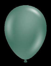 17 inch Tuf-Tex Evergreen Latex Balloons - 50 count