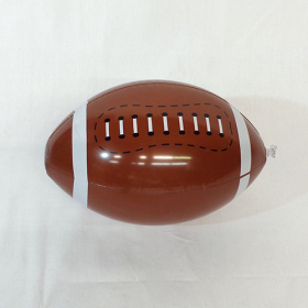 16 inch Football Design Beach Ball ( 11 inch inflated length)