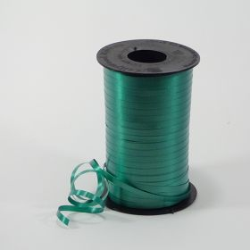 Forest Green Curling Ribbon Spool - 3/16 inch x 500 yards