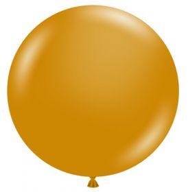 36 inch Tuf-Tex Metallic Gold Latex Balloon