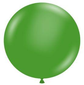 36 inch Tuf-Tex Standard Green Latex Balloon