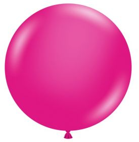 36 inch Tuf-Tex Hot Pink Latex Balloon