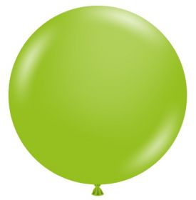 36 inch Tuf-Tex Lime Green Latex Balloon