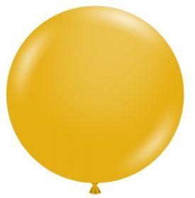 36 inch Tuf-Tex Mustard Latex Balloon