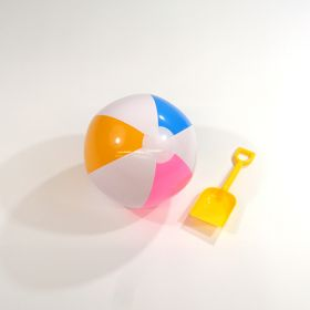 12 inch Cool Pastel Beach Balls (8 inch inflated diameter)