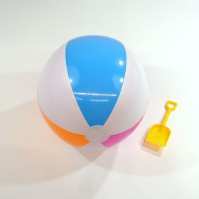 20 inch Cool Pastel Beach Balls (14 inch inflated diameter)