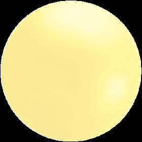 Giant 4 Foot Pastel Yellow Cloudbuster Balloon