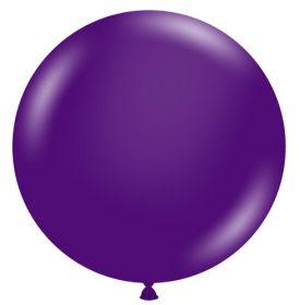 36 inch Tuf-Tex Crystal Purple Latex Balloon