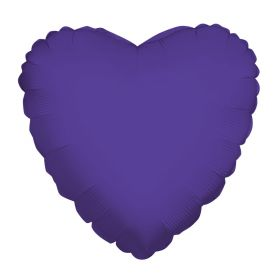 18 inch Purple Heart Foil Balloons