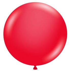 36 inch Tuf-Tex Standard Red Latex Balloon