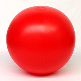 4 foot Red Vinyl Display Ball