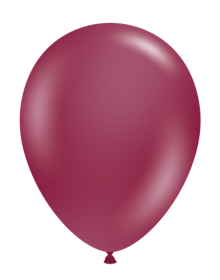 5 inch Tuf-Tex Sangria Latex Balloons - 50 count