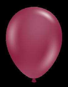 17 inch Tuf-Tex Sangria Latex Balloons - 50 count