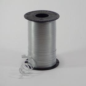 Silver Curling Ribbon Spool - 3/16 inch x 500 yards