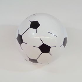 16 inch Soccer Ball Design Beach Ball (11 inch inflated diameter)
