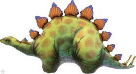 46 inch Northstar Stegosaurus Dinosaur Shape Foil Balloon
