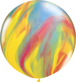 Qualatex Traditional Super Agate 30 inch Latex Balloon - 2 count