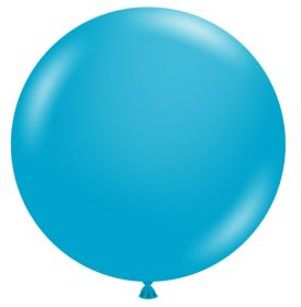 36 inch Tuf-Tex Turquoise Latex Balloon