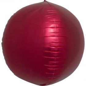 17 inch Northstar Red Sphere Foil Balloons