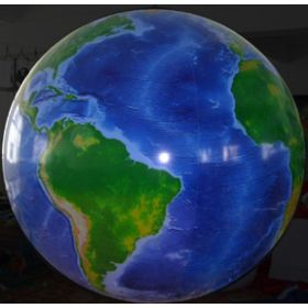 7 foot Vinyl Globe Earth Balloon