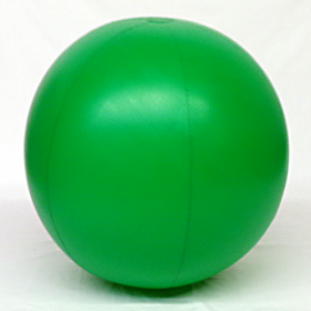 5 foot Green Vinyl Display Ball