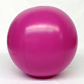 4 foot Purple Vinyl Display Ball