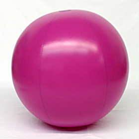 5 foot Purple Vinyl Display Ball