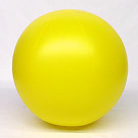 4 foot Yellow Vinyl Display Ball
