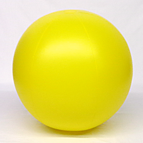 5 foot Yellow Vinyl Display Ball