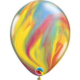 Qualatex Traditional Super Agate 11 inch Latex Balloon - 25 count